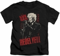 Billy Idol kids t-shirt Brick Wall black