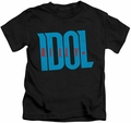 Billy Idol kids t-shirt Logo black