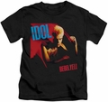 Billy Idol kids t-shirt Rebel Yell black