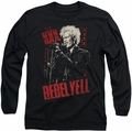 Billy Idol long-sleeved shirt Brick Wall black
