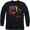 Billy Idol long-sleeved shirt Rebel Yell black