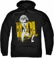 Billy Idol pull-over hoodie Brash adult black