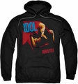 Billy Idol pull-over hoodie Rebel Yell adult black
