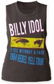 Billy Idol Rebel Yell Tour '84 juniors muscle tank vintage black womens pre-order