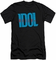 Billy Idol slim-fit t-shirt Logo mens black