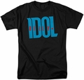Billy Idol t-shirt Logo mens black