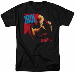 Billy Idol t-shirt Rebel Yell mens black