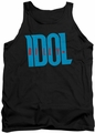 Billy Idol tank top Logo adult black