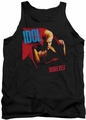 Billy Idol tank top Rebel Yell adult black