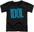 Billy Idol toddler t-shirt Logo black