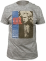 Billy Idol white wedding fitted jersey tee heather grey t-shirt pre-order