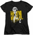 Billy Idol womens t-shirt Brash black