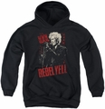 Billy Idol youth teen hoodie Brick Wall black