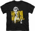 Billy Idol youth teen t-shirt Brash black