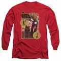 Billy & Mandy adult long-sleeved shirt Jamie And Max red