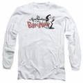 Billy & Mandy adult long-sleeved shirt Logo white