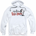 Billy & Mandy pull-over hoodie Logo adult white