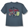 Billy & Mandy youth teen t-shirt Group Shot slate