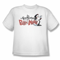 Billy & Mandy youth teen t-shirt Logo white