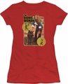 Bionic Woman juniors t-shirt Jamie And Max red