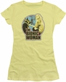 Bionic Woman juniors t-shirt Jamie & Maximillian banana