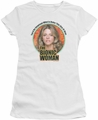 Bionic Woman juniors t-shirt Under My Skin white