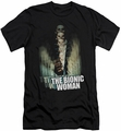 Bionic Woman slim-fit t-shirt Motion Blur mens black