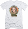 Bionic Woman slim-fit t-shirt Under My Skin mens white