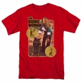 Bionic Woman t-shirt Jamie And Max mens red