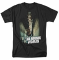 Bionic Woman t-shirt Motion Blur mens black