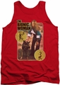 Bionic Woman tank top Jamie And Max mens red