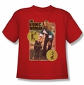 Bionic Woman youth teen t-shirt Jamie And Max red