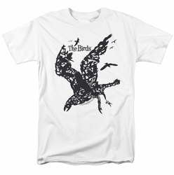 Birds t-shirt Title mens white
