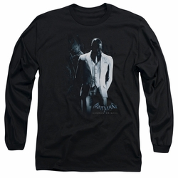 Black Mask adult long-sleeved shirt Arkham Origins black