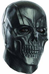 Black Mask Deluxe Overhead Latex Adult Mask Batman Arkham Origins