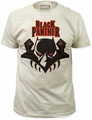 Black Panther logo fitted jersey tee pre-order