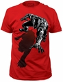 Black Panther shadow fitted jersey tee pre-order