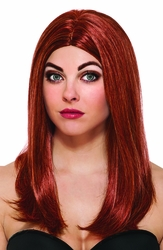 Black Widow adult Wig costume accessory