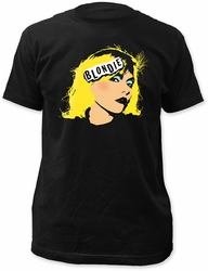 Blondie face fitted jersey tee black pre-order
