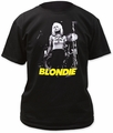 Blondie funtime adult tee black pre-order