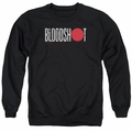 Bloodshot adult crewneck sweatshirt Logo black