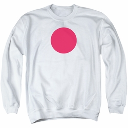 Bloodshot adult crewneck sweatshirt Spot white