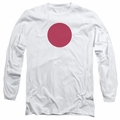 Bloodshot adult long-sleeved shirt Spot white