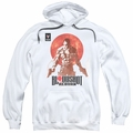 Bloodshot pull-over hoodie Reborn adult white