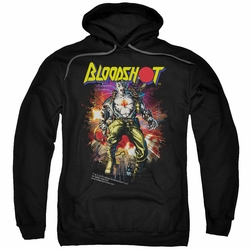 Bloodshot pull-over hoodie Vintage Bloodshot adult black