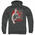 Bloodsport pull-over hoodie To The Death adult Charcoal