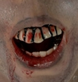 Bloody Teeth The Walking Dead accessory