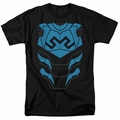 Blue Beetle t-shirt costume mens black