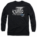 Blues Brothers adult long-sleeved shirt Band black