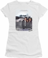 Blues Brothers juniors t-shirt Distressed Poster white